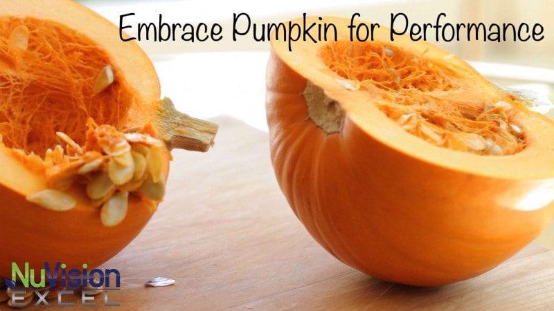 embrace pumpkin for performance