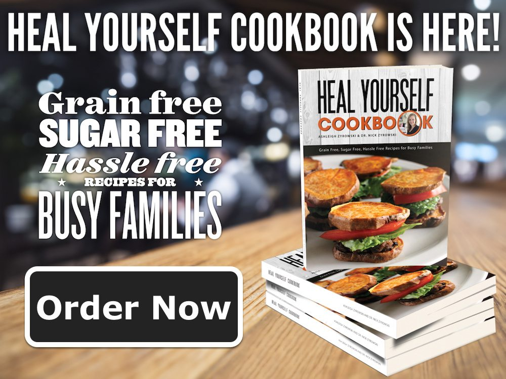 Order Heal Yourself Cookbook now