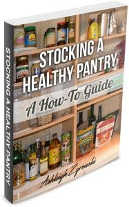 Stocking a healthy pantry guide