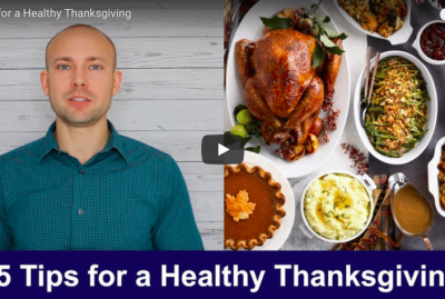 [VIDEO] 5 Tips for a Healthy Thanksgiving
