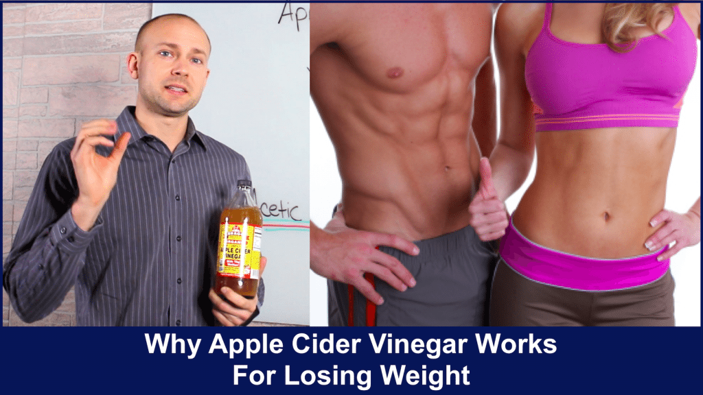 apple cider vinegar works for losing weight