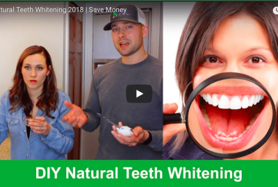 [VIDEO] DIY Natural Teeth Whitening