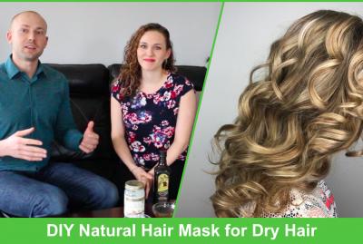 [VIDEO] DIY Natural Hair Mask for Dry Hair
