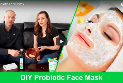 [VIDEO] DIY Probiotic Face Mask