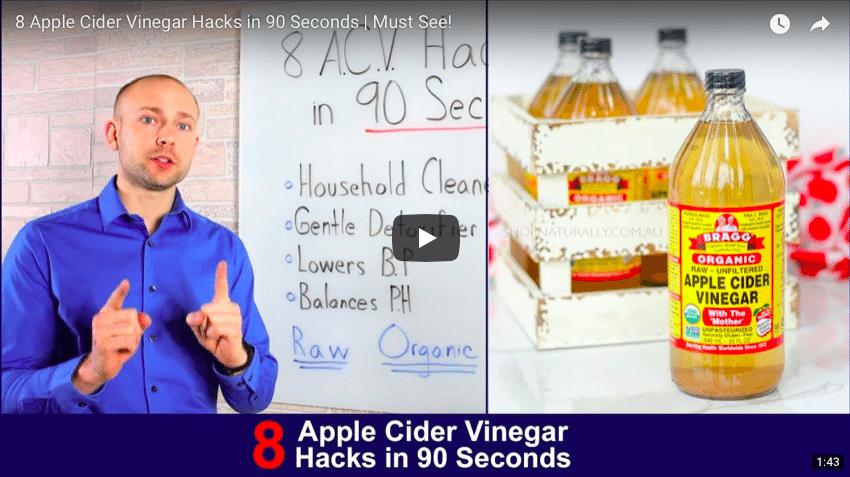 apple cider vinegar hacks