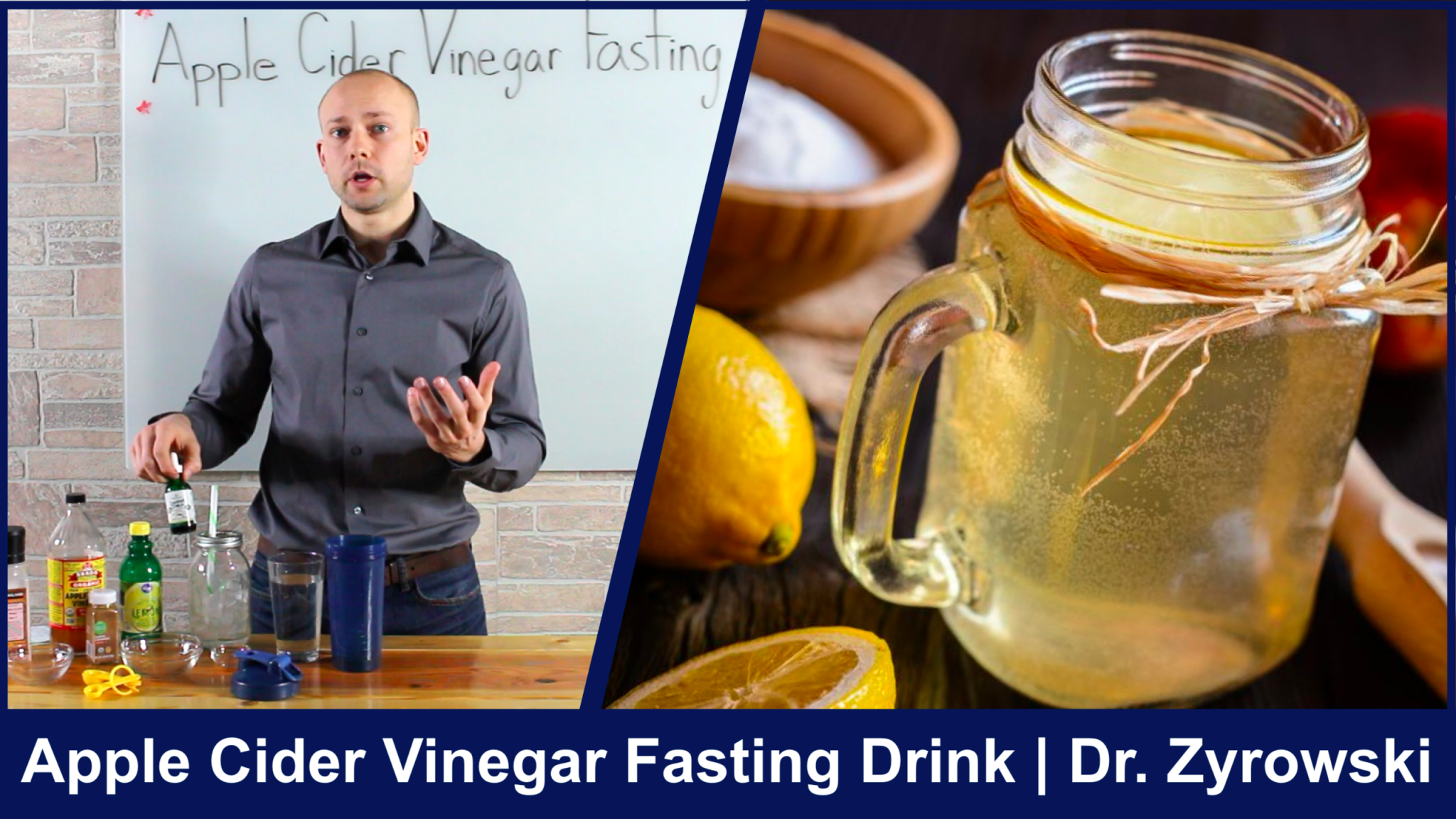 Apple Cider Vinegar Fasting Drink