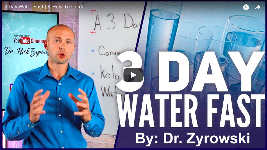 Video] 3 Day Water Fast - A Practical How To Guide