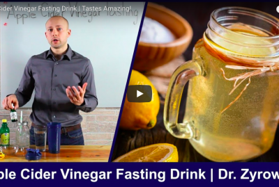 [VIDEO] Apple Cider Vinegar Fasting Drink