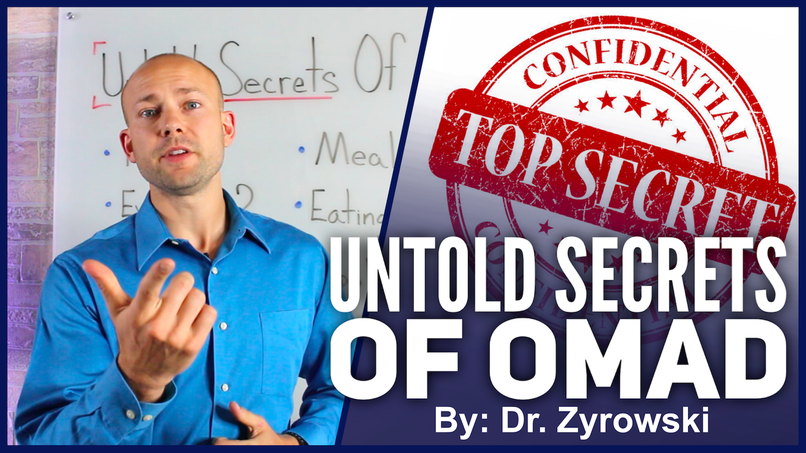 The Untold Secrets of One Meal a Day
