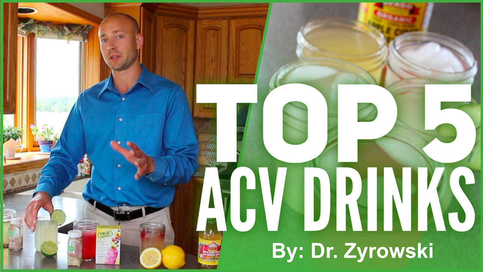 Top 5 Apple Cider Vinegar Drinks