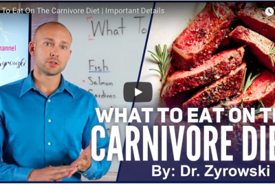 [VIDEO] What To Eat On The Carnivore Diet