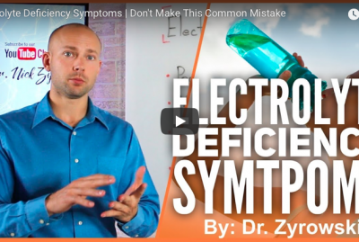 [VIDEO] Electrolyte Deficiency Symptoms
