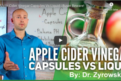 [VIDEO] Apple Cider Vinegar Capsules Vs Liquid