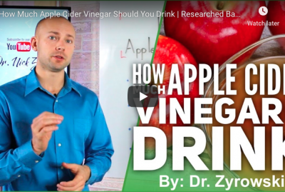 [VIDEO] How Much Apple Cider Vinegar Should You Drink?