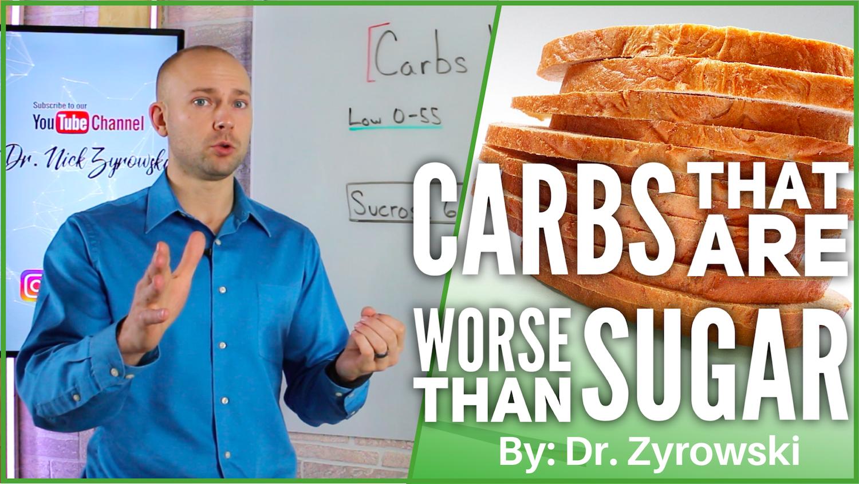 Carbs Worse Than Sugar