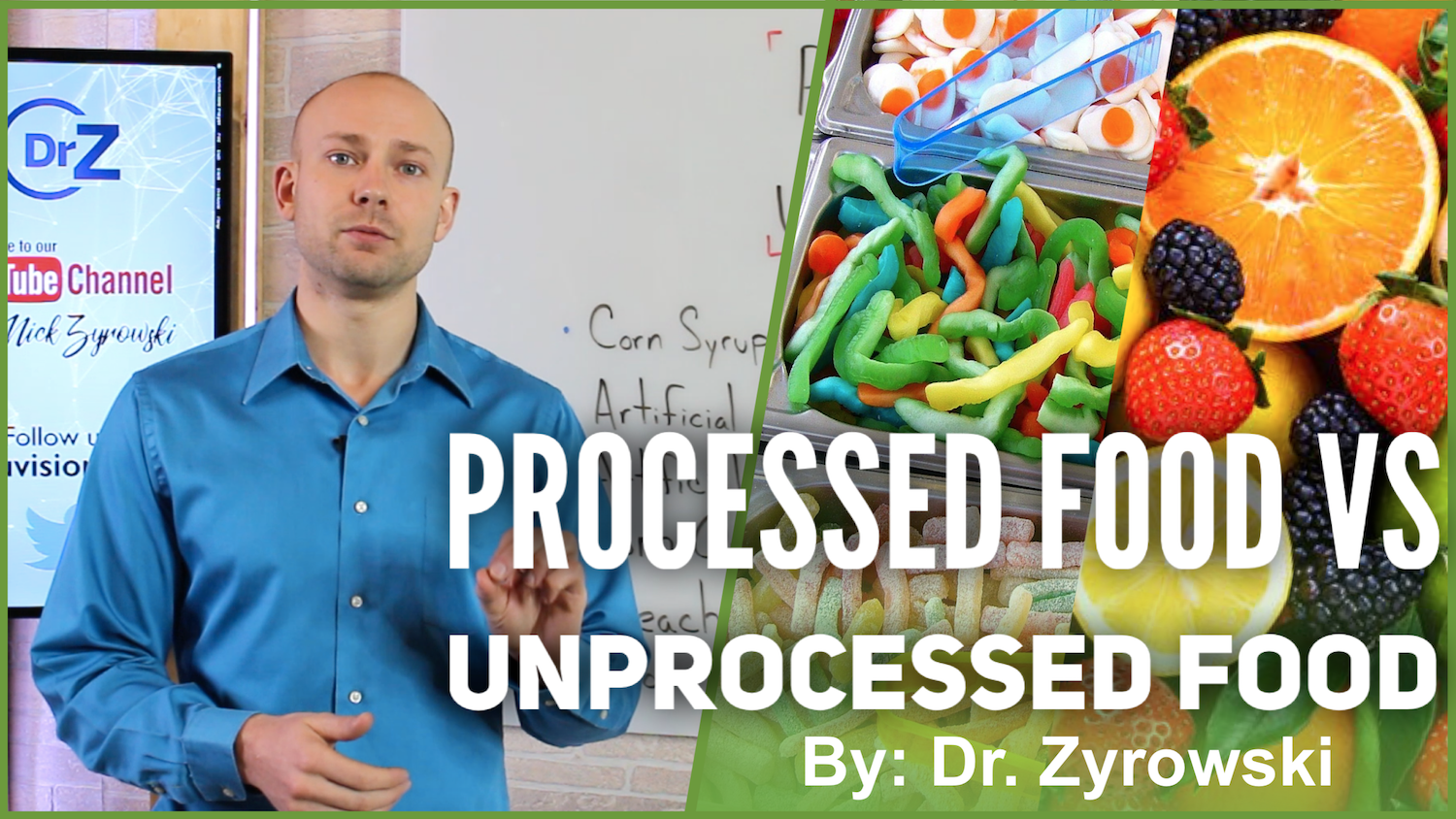 Processed Foods Vs Unprocessed Foods