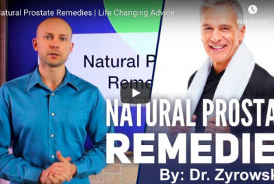 [VIDEO] Natural Prostate Remedies