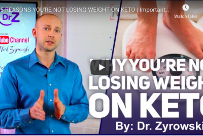 [VIDEO] 5 Reasons You're Not Losing Weight on Keto