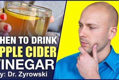 When To Drink Apple Cider Vinegar